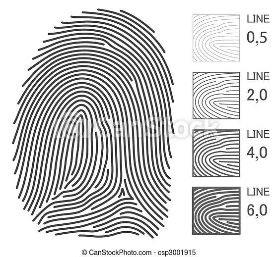 Fingerprint Illustrations and Clip Art. 7,161 Fingerprint royalty ...