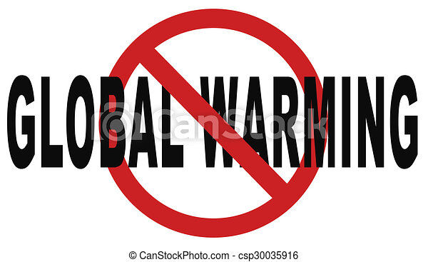 Clipart of stop global warming and climate change carbon neutral ...