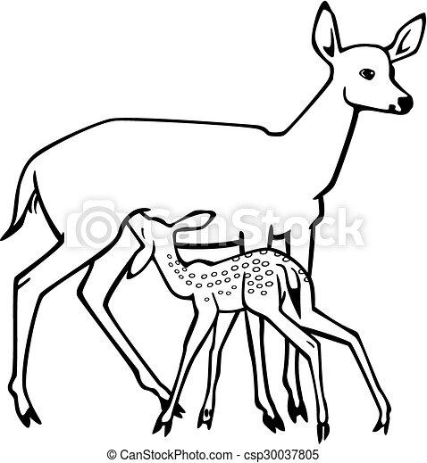 Fish Fish Backgrounds also Deer Hoof Prints furthermore Mule Deer Buck also Deer Tribal Tattoos besides Doe And Fawn 30037805. on doe deer clip art