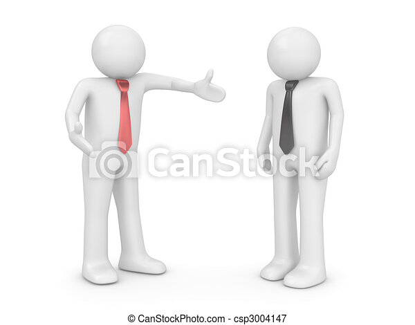 Employer and employee - csp3004147