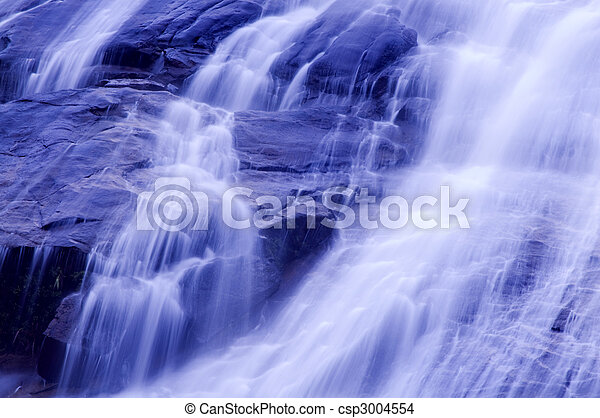 waterfalls. - csp3004554