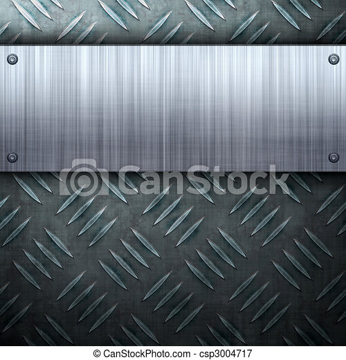 Brushed Metal Layout - csp3004717