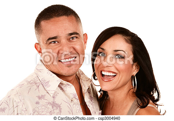 Attractive Hispanic Couple - csp3004940