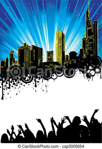 Party Flyer - csp3005654