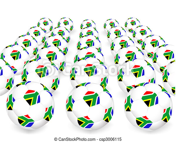2010 FIFA World Cup South Africa balls - csp3006115