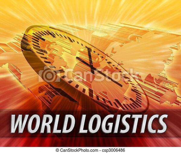 International logistics management concept - csp3006486