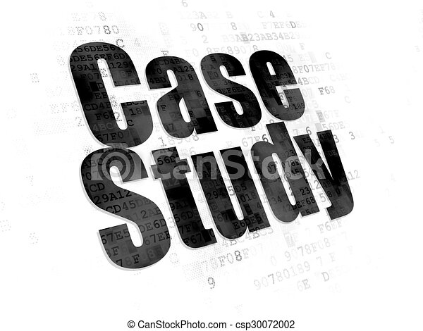 Education concept: Case Study on Digital background - csp30072002