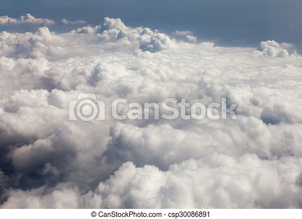Above the clouds - csp30086891