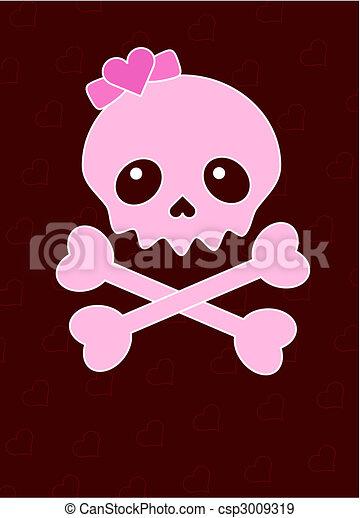 Skull - csp3009319