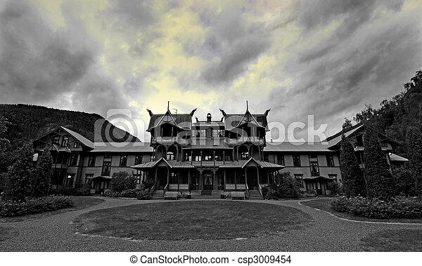 Old Mansion  - csp3009454