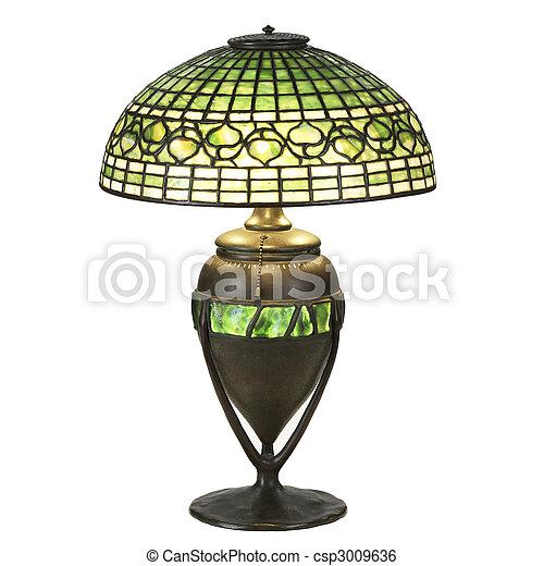 담쟁이 덩굴, 잎, 유리, 테이블, 램프 csp3009636의 스톡 사진 - 스톡 ...