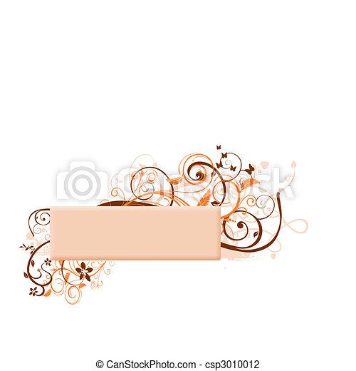 beige banner - csp3010012
