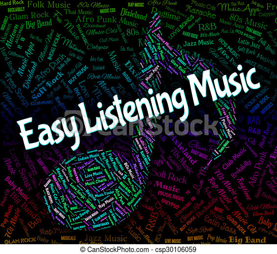 Stock Illustrations of Easy Listening Music Shows Big Band And ...