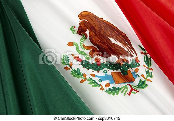 Flag of Mexico - csp3010745