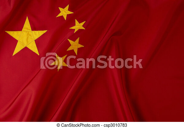 Flag of China - csp3010783