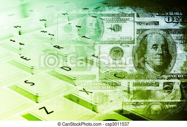 Online Banking - csp3011537