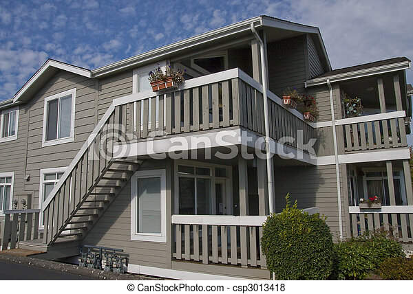 Nice Siding Condo Unit - csp3013418