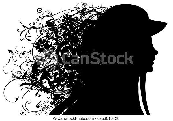 Hairdress - csp3016428