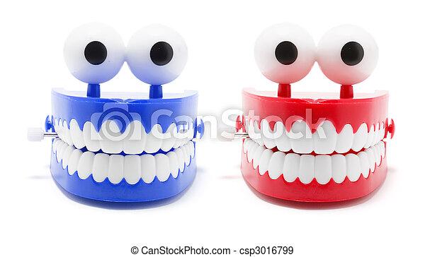 閒聊, 牙齒 - csp3016799