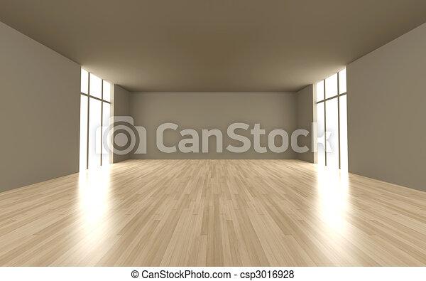 Empty room - csp3016928