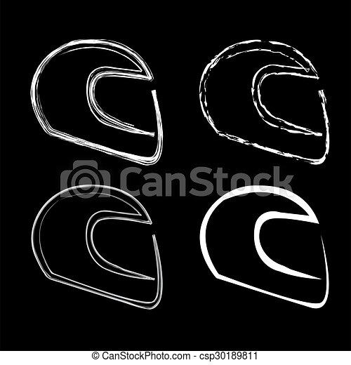 Logo for motorsports in different e