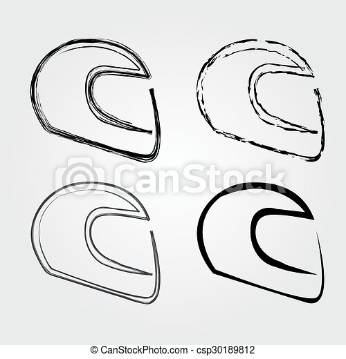 Logo for motorsports in different