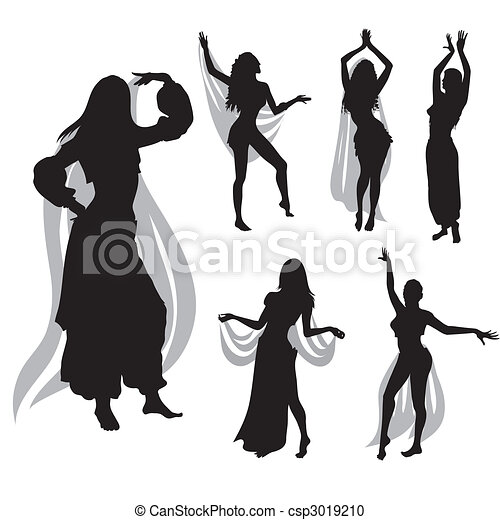 belly dance - csp3019210