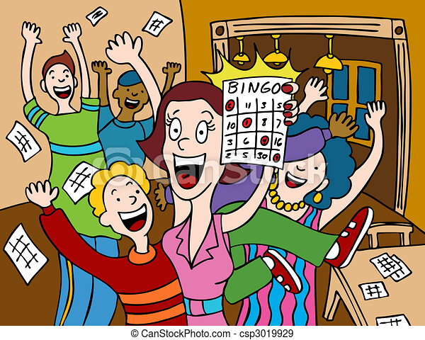 Bingo Illustrations and Stock Art. 2,174 Bingo illustration and ...