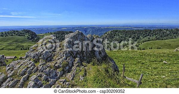 Landscape of mountain - csp30209352