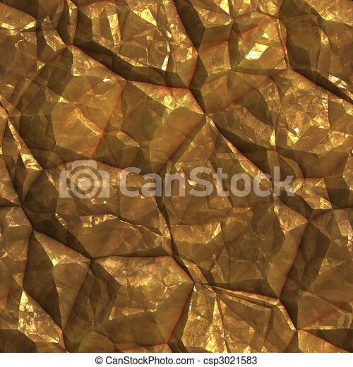 Gold ore  deposits texture - csp3021583