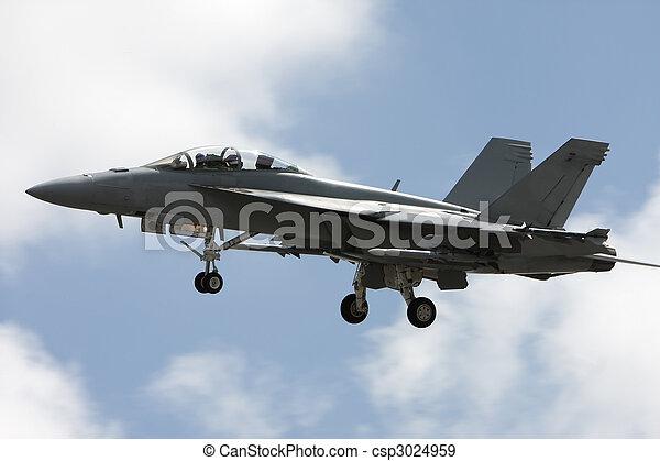 Military plane - csp3024959