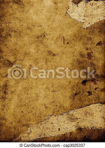 scraped paper - csp3025337
