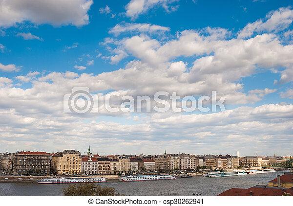 Panorama of Budapest - csp30262941