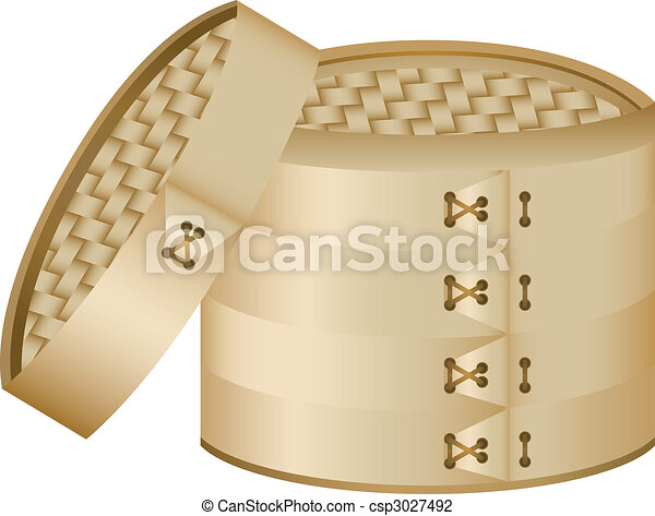 Bamboo Steamer - csp3027492