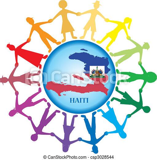 Help Haiti 2 - csp3028544