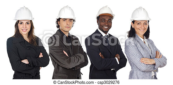 Team of engineers - csp3029276