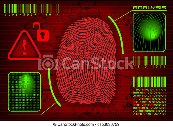 Vector Fingerprint - csp3030759