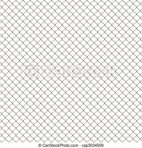 Chain Link Fence - csp3034509