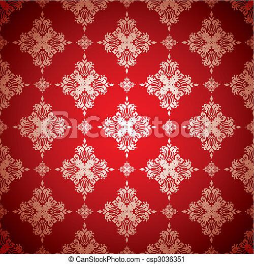 Vector clip art de caliente papel pintado plata rojo for Papel pintado rojo y blanco