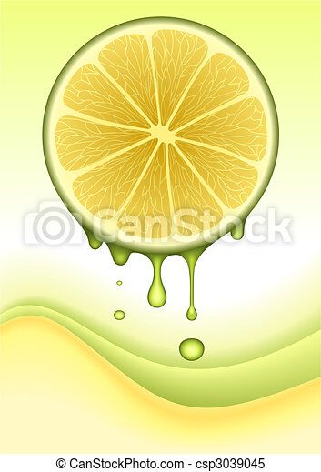 Orange Lemon Concept / VECTOR - csp3039045
