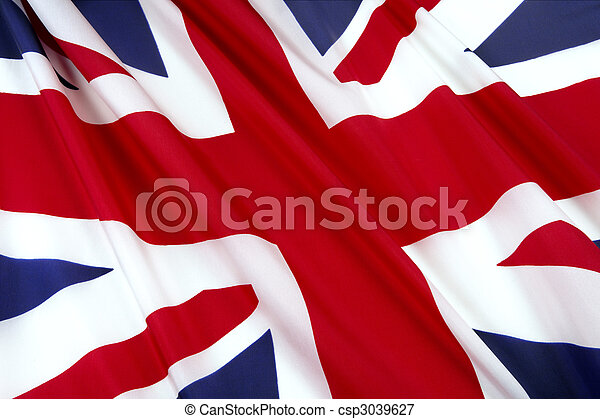 Flag of England - csp3039627