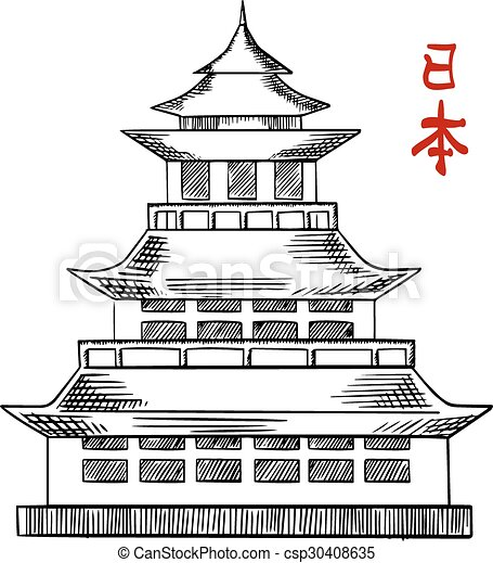 Advantages And Disadvantages Of Folded Plate Roofs Over Shell Roofs besides Index php likewise Japanese Old Pagoda Tower Sketch 30408635 moreover Great hall likewise 14071 33. on roof plans