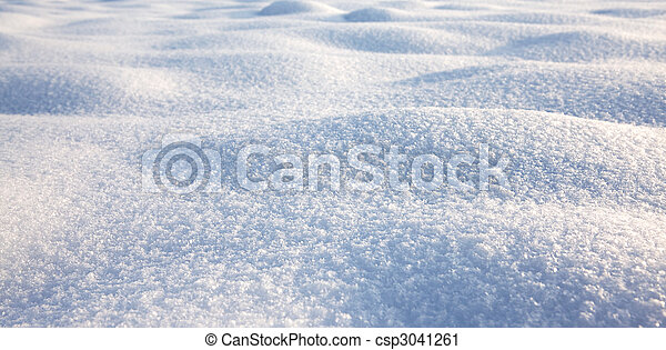 snow texture, winter scene, snow background - csp3041261