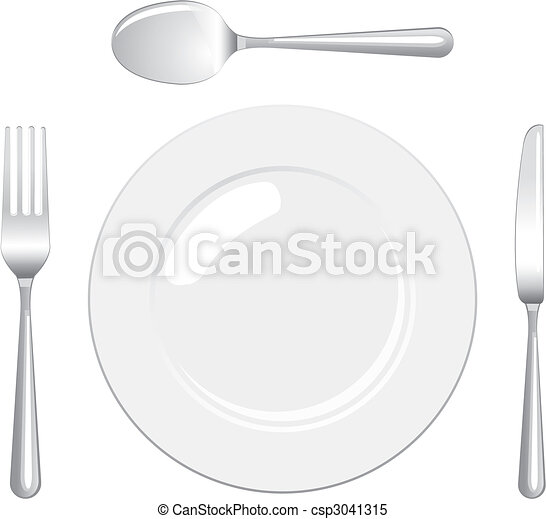 Place setting - csp3041315