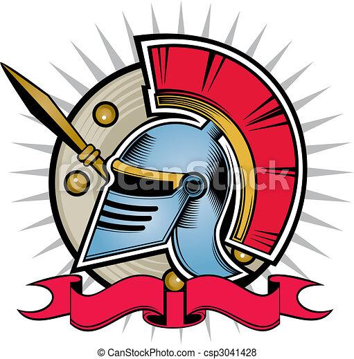 hoplite helmet - csp3041428