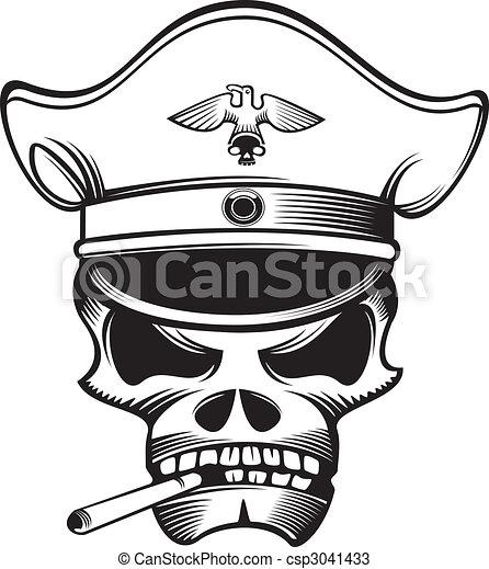 Skull Designs Drawing Vector Skull Head