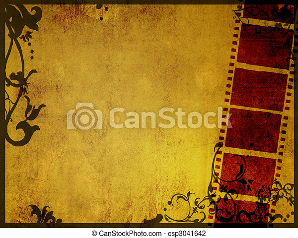 Great film strip for textures and backgrounds - csp3041642