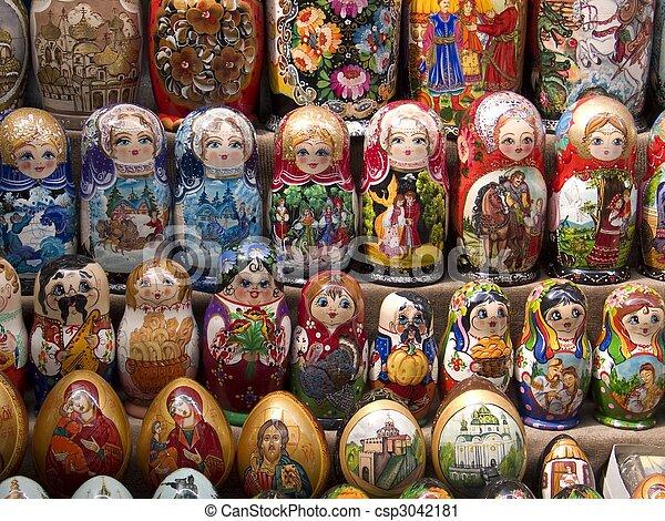the city of Kiev, Ucraine, East Europe - csp3042181