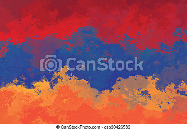 Armenian flag - csp30426583