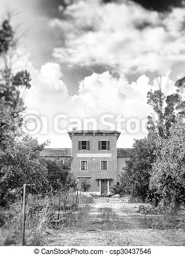 old fear house